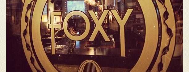 Foxy Bar is one of Barcelona Trendy.