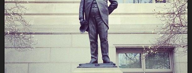 Alexander Robey Shepherd Statue is one of Mark 님이 저장한 장소.
