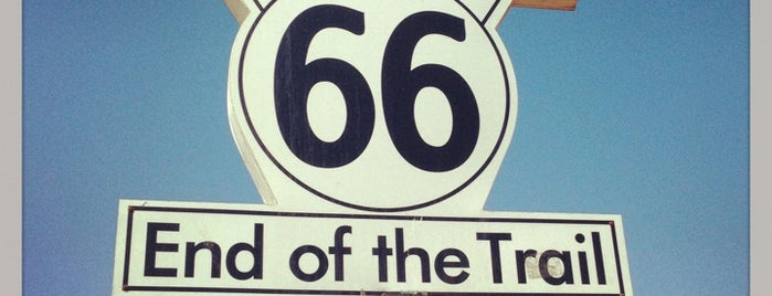 Route 66 End of the Trail is one of Locais curtidos por Mehmet.