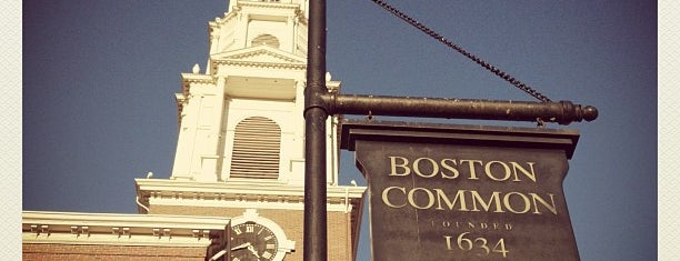 Boston Common is one of Great City Parks in the United States and Canada.