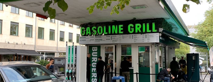 Gasoline Grill is one of Lieux sauvegardés par Bigmac.
