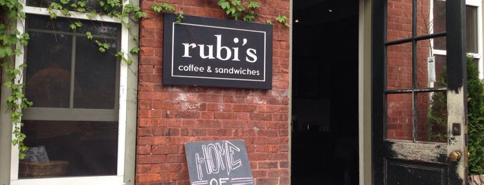 Rubi's Coffee & Sandwiches is one of Berkshires.