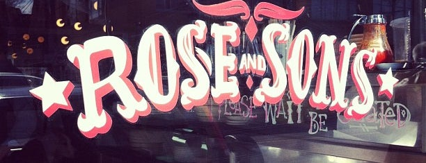 Rose & Sons is one of Lieux qui ont plu à Crystal.