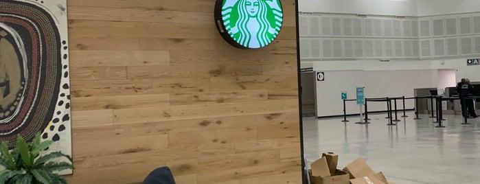 Starbucks - Terminal A is one of Posti che sono piaciuti a Aptraveler.