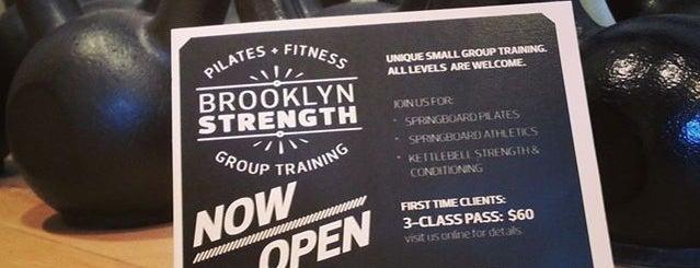 Brooklyn Strength is one of Swole.