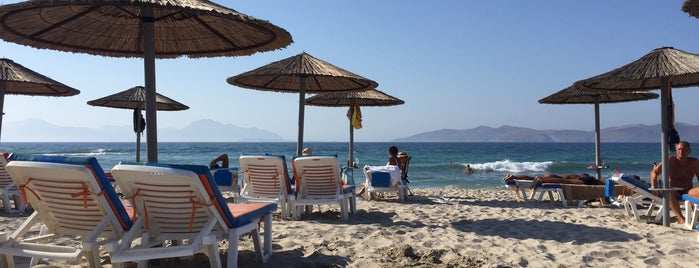Marmari Beach is one of Kos.