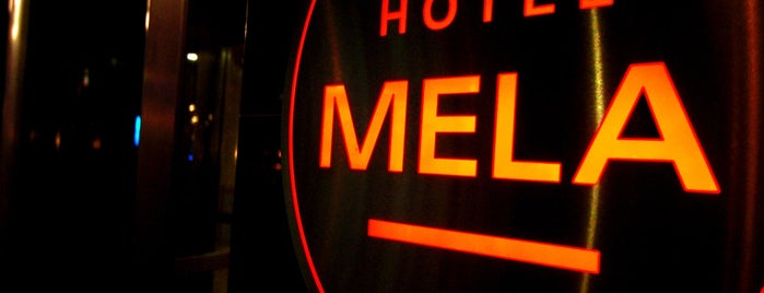 Hotel MELA is one of Locais curtidos por Ornela.