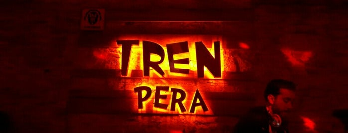 TREN Pera is one of Locais salvos de Anıl.