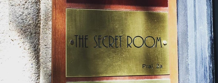 The Secret Room is one of Barceloca.