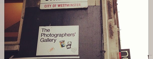 The Photographers' Gallery is one of London Town.