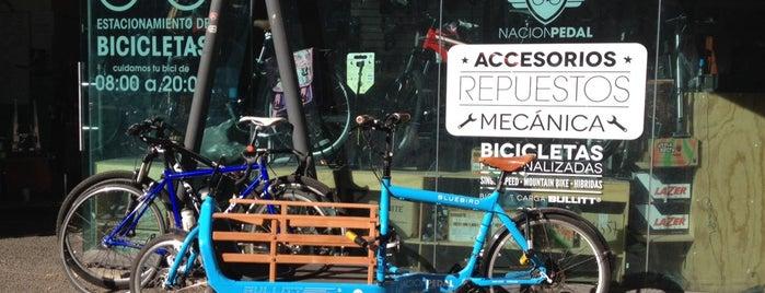 Nación Pedal » Bicicentro Manuel Montt is one of Providencia.