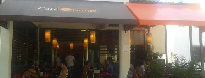 Cafe Orange is one of Playa Del Carmen.