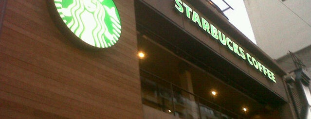 Starbucks is one of Abel 님이 좋아한 장소.