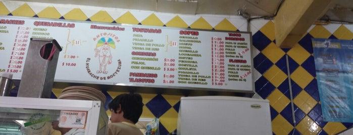 El Huarache De Moctezuma is one of Comida.