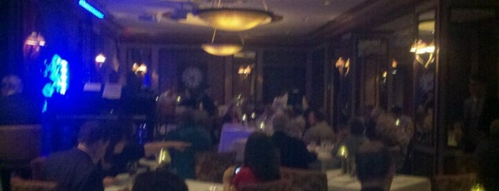 Feinstein's at Loews Regency Hotel is one of Jazz Ain't Nuthin' But Soul.