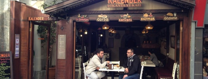 Kalender Lokanta ve Kafe is one of Lieux sauvegardés par Hakan.