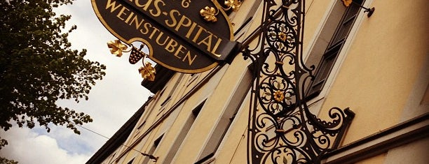 Weinstuben Juliusspital is one of Restaurants.