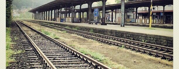 Železniční stanice Kuřim is one of Davidさんのお気に入りスポット.