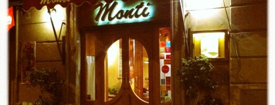Trattoria Monti is one of Thomas 님이 저장한 장소.