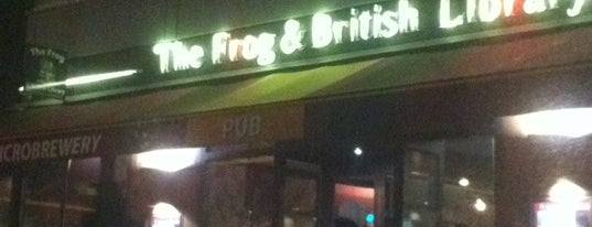 The Frog & British Library is one of Locais curtidos por Esra.