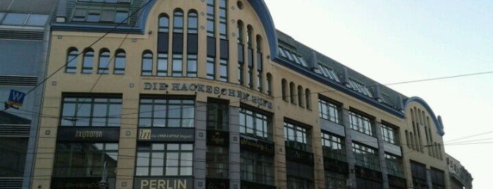 Hackescher Markt is one of Top Locations Berlin.
