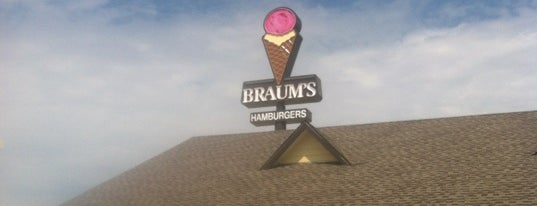 Braum's Ice Cream & Dairy Stores is one of Newton To-Do.