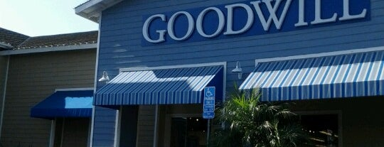 Goodwill is one of places to go.