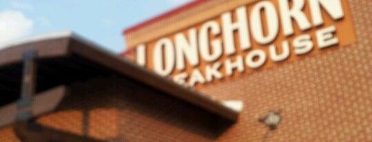LongHorn Steakhouse is one of Chris : понравившиеся места.