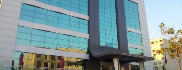 Özel Tınaztepe Hastanesi is one of Cem Yılmaz 님이 저장한 장소.