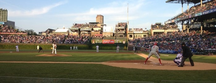 Wrigley Field is one of Things to do in Chicago.