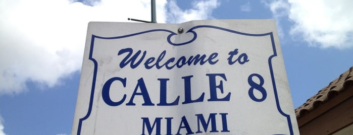 Calle Ocho Walk of Fame is one of Gespeicherte Orte von Pame.