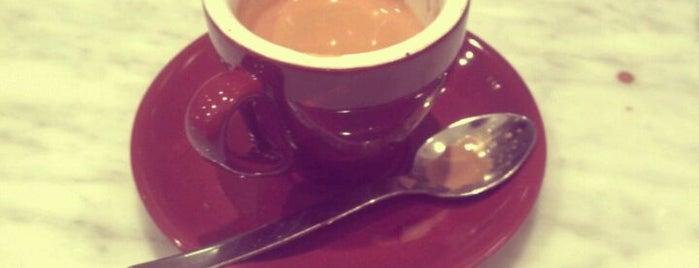 Blue Bottle Coffee is one of Hott Coffee.