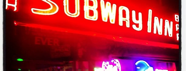 Subway Inn is one of NYC Media Bars.
