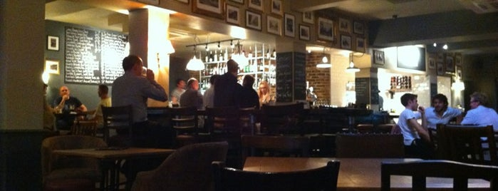 The Black Lion is one of London must eat and drink.