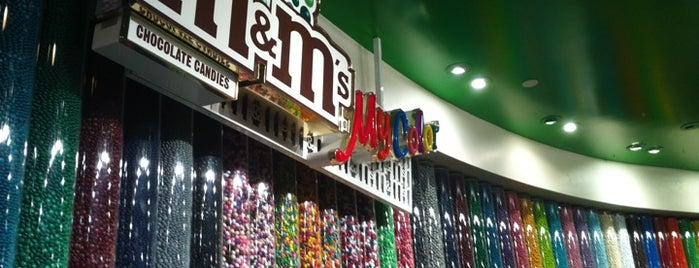 M&M's World is one of Orte, die David gefallen.