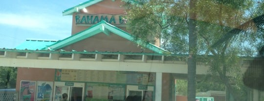 Bahama Buck's is one of Dessert Please! Dallas Edition.