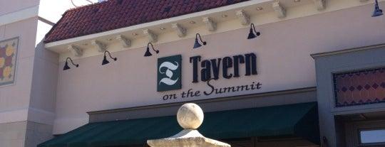 Tavern on the Summit is one of Birmingham Restaurants.