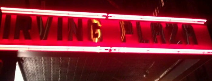Irving Plaza is one of Best Live Music Venues.