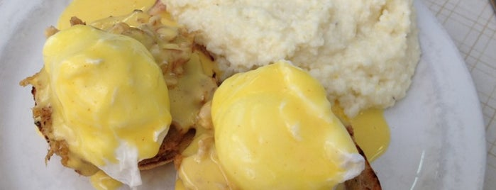 Sunflower Cafe is one of America's 50 Best Eggs Benedict Dishes.