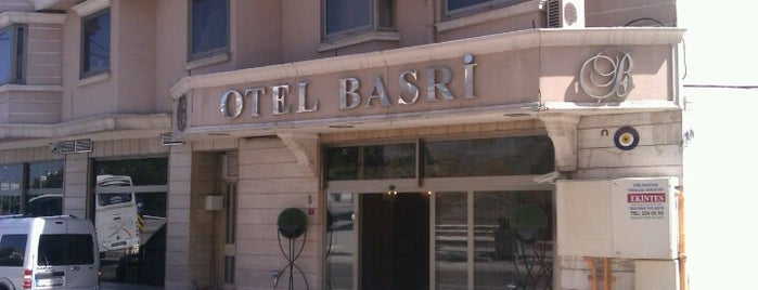 Otel Basri is one of Locais curtidos por Kökten.