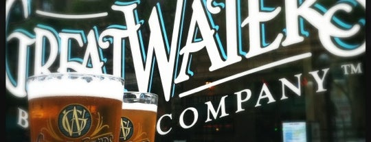 Great Waters Brewing Company is one of Downtown Saint Paul Restaurants.