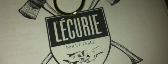 L'Écurie Bar et Table is one of Bar/Drinks.
