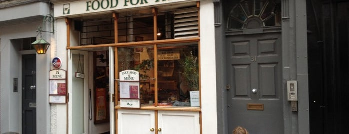Food For Thought is one of TEN BEST: Vegetarian restaurants in London.