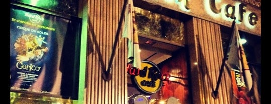 Hard Rock Cafe Barcelona is one of Barcelona.