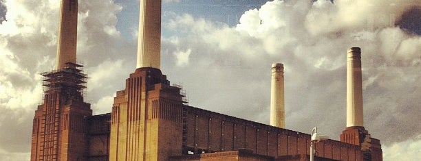 Battersea Power Station is one of London.