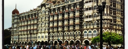 Taj Mahal Palace & Tower is one of Qué visitar.