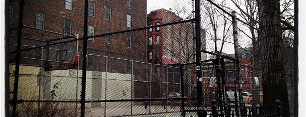 West 4th Street Courts (The Cage) is one of Linsanity.