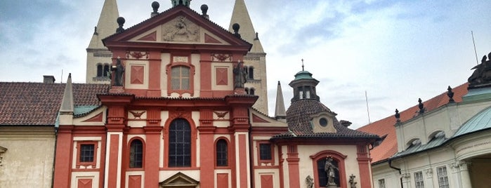 St.-Georgs-Basilika is one of StorefrontSticker #4sqCities: Prague.