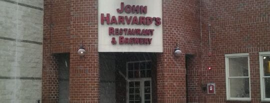 John Harvard's Brewery & Ale House is one of Kapil'in Kaydettiği Mekanlar.
