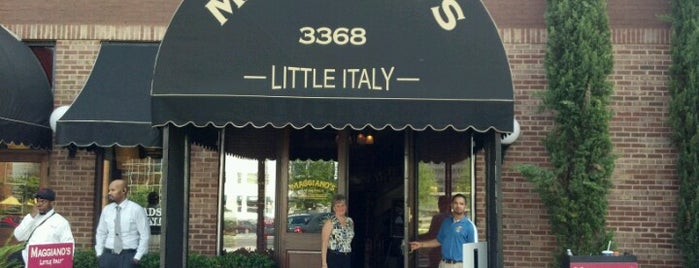 Maggiano's Little Italy is one of ATL.